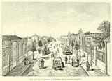 The Rue du Commerce (Faubourg de la Folie), Epernay