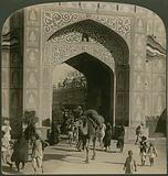 Chand Pol (Moon Gate), Jaipur, India