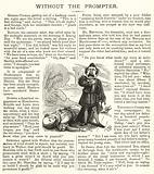 Hamlet murdering Shakespeare