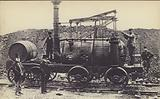 Puffing Billy built by William Hedley in 1813 for use at Wylam Colliery