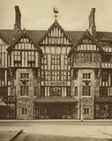 Part of Liberty's Tudor Revival building in Great Marlborough Street, Westminster