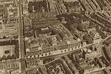 Aerial view of South Kensington showing the museums and Brompton Oratory