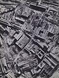 The Krupp works on the Ruhr, Germany, after bombing by the RAF, World War 2, 1943