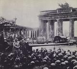 Berlin falls to the Russians, World War 2, 2 May 1945