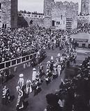 Procession at the investiture of the Prince of Wales at Caernarvon Castle, 1911