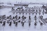 British submarines in Portsmouth Harbour