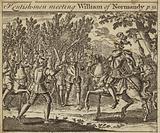Kentish Men meeting William of Normandy