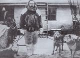 American explorer Robert E Peary, the first man to reach the North Pole, 1909