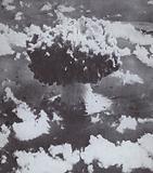 American atom bomb test at Bikini Atoll, 1946