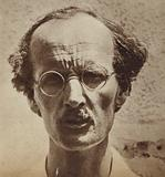 Professor Auguste Piccard, Swiss physicist, inventor and high-altitude balloonist