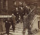 Members of Britain's National cabinet formed after the fall of the Labour government in 1931