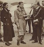 Marriage of British aviators Amy Johnson and Jim Mollison, 1932