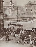 Scene outside the Four Courts building, Battle of Dublin, Irish Civil War, July 1922