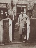 The Prince of Wales visiting the home of a Durham coal miner, 1929