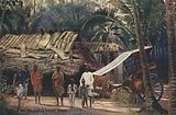 An Indian homestead