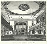 Interior of the City-Road Chapel, 1861