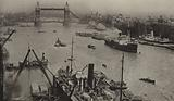 The Pool of London and Tower Bridge