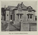 Concrete villas at Paisley