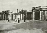 Dublin: The Bank of Ireland, formerly the Irish Houses of Parliament