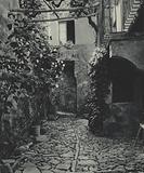 Sicilia / Sicily: Monte S Giuliano, Un caratteristico cortile