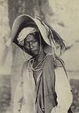 Burma: A Shan trader in his hot-weather hat