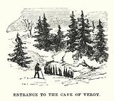 Entrance to the Cave of Vergy