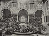 Villa Palmieri, Florence, Cortile of the Villa