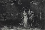 Louis XIV and Mademoiselle De la Valliere