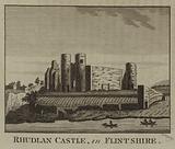Rhudlan Castle, in Flintshire