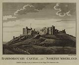Bamborough Castle, in Northumberland