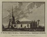 St Sepulchre's Church, at Northampton, in Northamptonshire