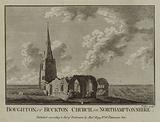 Boughton, or Buckton Church, in Northamptonshire