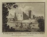 Lanharne Castle, in Caermarthenshire