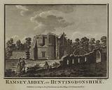 Ramsey Abbey, in Huntingdonshire