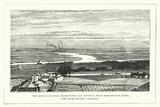 The Mersey between Warrington and Runcorn, with Bridgewater Canal, View from Halton, Cheshire