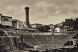 Firenze / Florence: Fiesole, Anfiteatro Romano