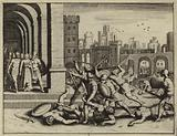 Killing of Hamor and Shechem by the Simeon and Levi in vengeance for the rape of their sister Dinah