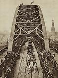 King George V opening the Tyne Bridge, Newcastle Upon Tyne, 10 October 1928
