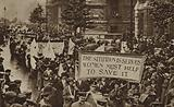 Women's Rights procession, Westminster, London, 1915