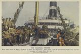 British colonial troops of the Boer War at Spithead, Hampshire, 1902