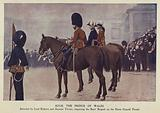 Prince of Wales inspecting the Boys' Brigade, Horse Guards Parade, London, 1902