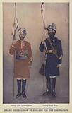 Indian soldiers in England for the Coronation of King Edward VII, 1902