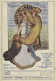 Advertisement for Edwards Harlene hair dressing with an endorsment by English actress Lillie Langtry