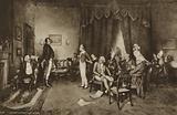 Meeting of Robert Burns and Sir Walter Scott, Edinburgh