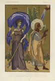 Prophet Ezekiel receiving inspiration during the night