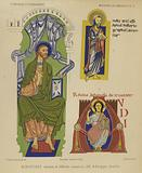 Depictions of Jesus Christ from medieval manuscripts
