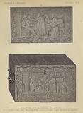 German engraved iron box, 16th Century