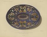 Enamelled faience dish by Bernard de Palissy, 16th Century