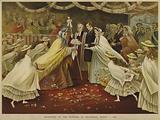 Reception of Princess Alexandra at Gravesend, 7 March 1863
