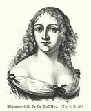 Louise de la Valliere, mistress of King Louis XIV of France